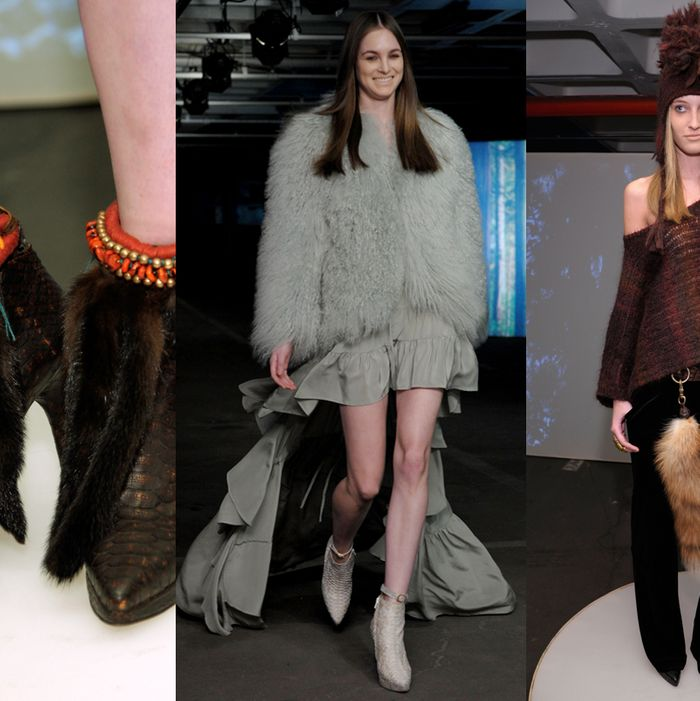 Looks from Skaist-Taylor's fall 2012 collection.