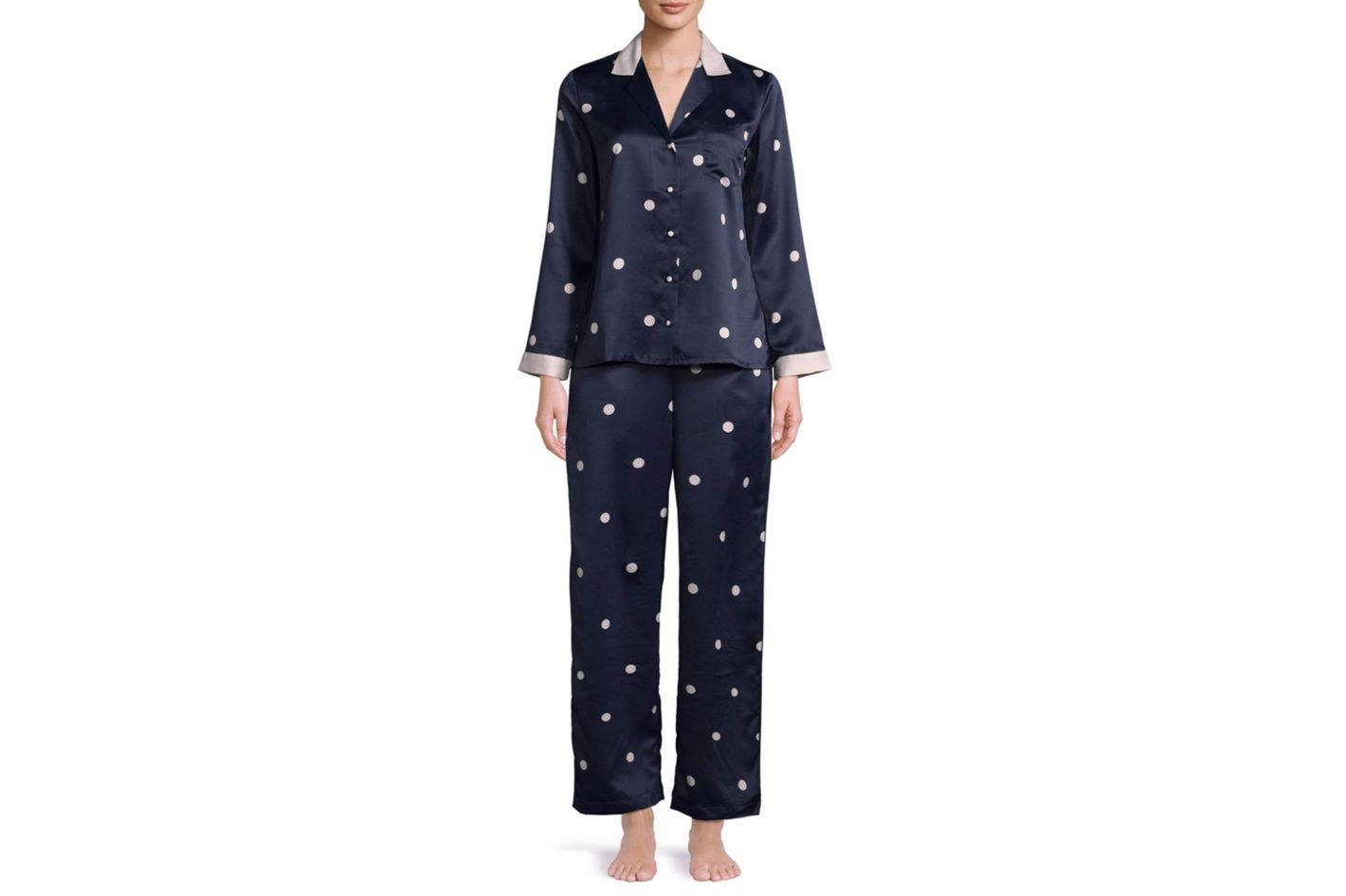 Kate Spade New York Two-Piece Spotty Pyjama Set