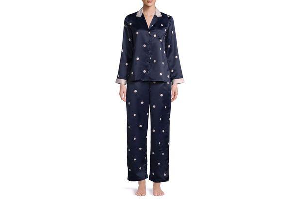 Kate Spade New York Two-Piece Spotty Pyjama Set