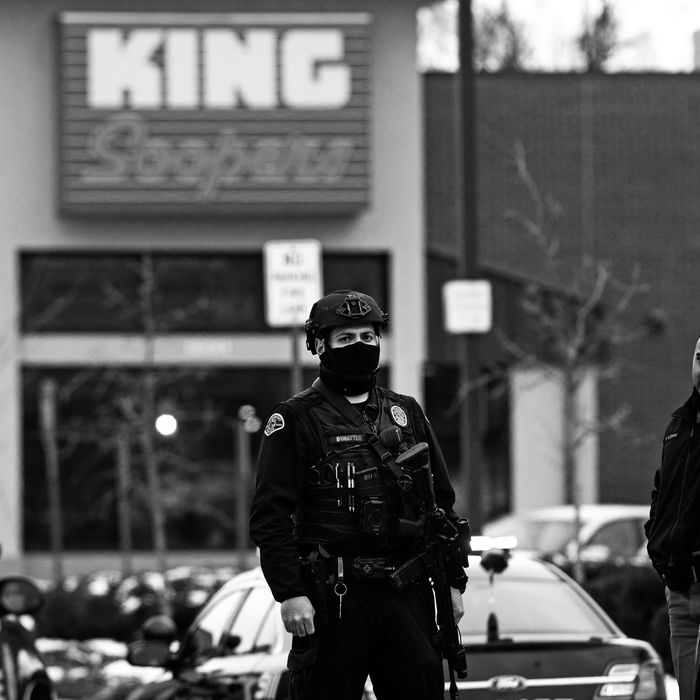At least ten people are dead following a mass shooting at a King Soopers grocery store in Boulder, Colorado.