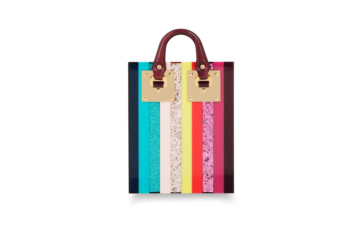 Rainbow Compton Evening Tote