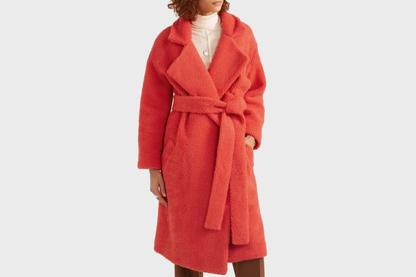 Michael Lo Sordo Fili Faux Fur Coat