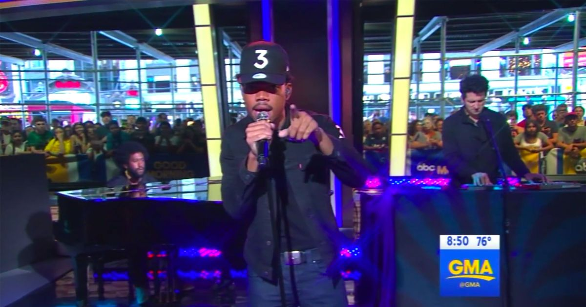 Good Morning America Email : Start your day with chance the rapper on good morning america