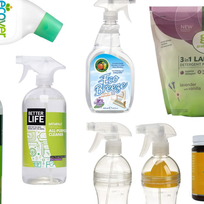 These kitchen sprays, laundry detergents, and all-purpose baking-soda scrubs are actually healthier for our homes.