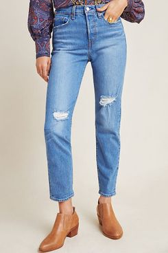 levi's wedgie icon ultra high-rise straight jeans - strategist best high-rise straight jeans