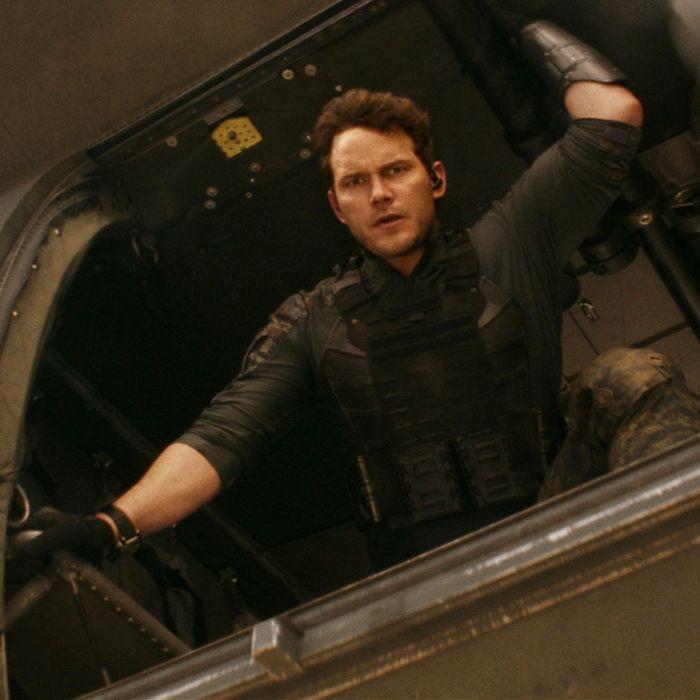 Chris Pratt in The Tomorrow War.