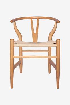 Stone & Beam Classic Wishbone Dining Chair, 22.4