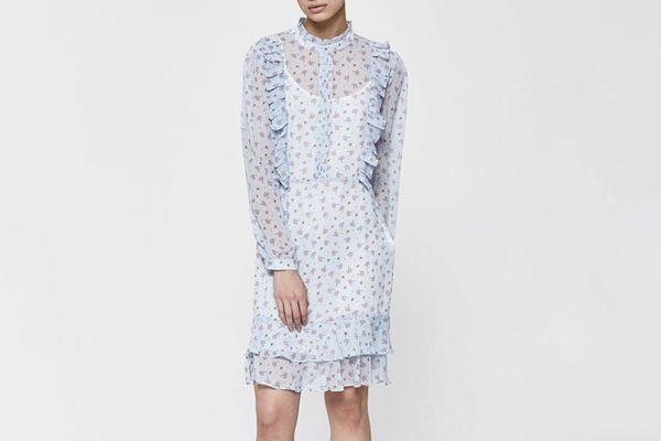 Farrow Clarice Long-Sleeved Dress