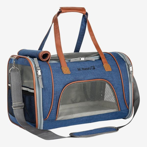 Mr. Peanut's Gold Series Airline-Approved Soft-Sided Dog & Cat Carrier