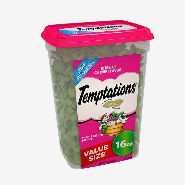 Temptations Cat Treats, Blissful Catnip, 16 oz.