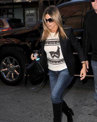Jennifer Aniston.