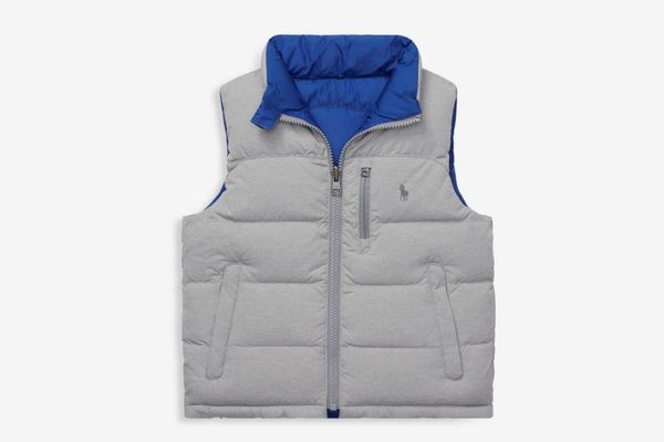 Ralph Lauren Little Boy's & Boy's Reversible Down Vest