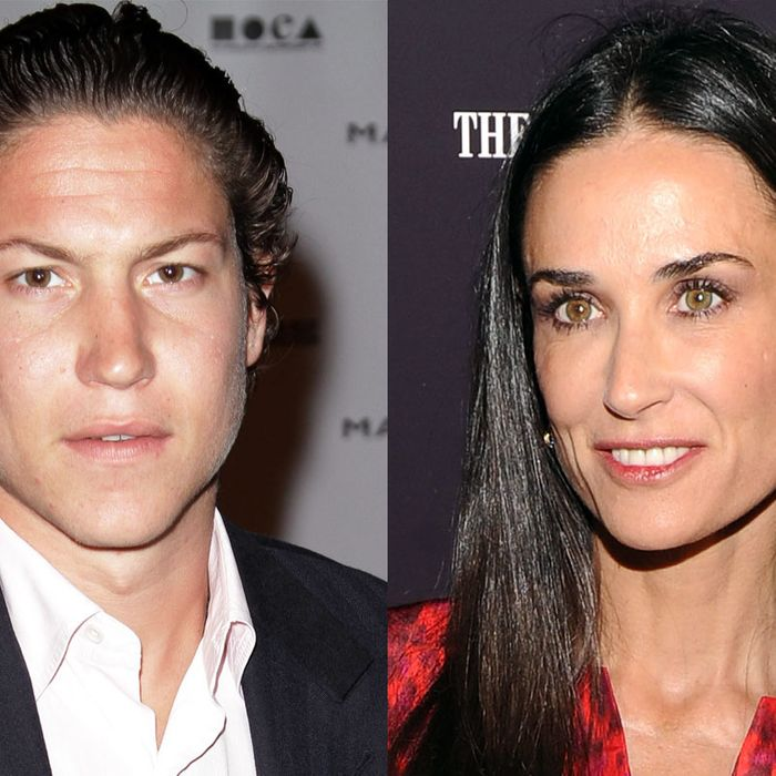 Vito Schnabel and Demi Moore, purported lovebirds.