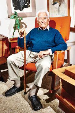 Furniture designer Jens Risom.