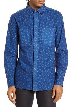 Barking Irons x Bob Dylan Desire Floral Button-Up Shirt