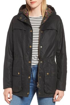 Barbour x Liberty Blaise Hooded Waxed