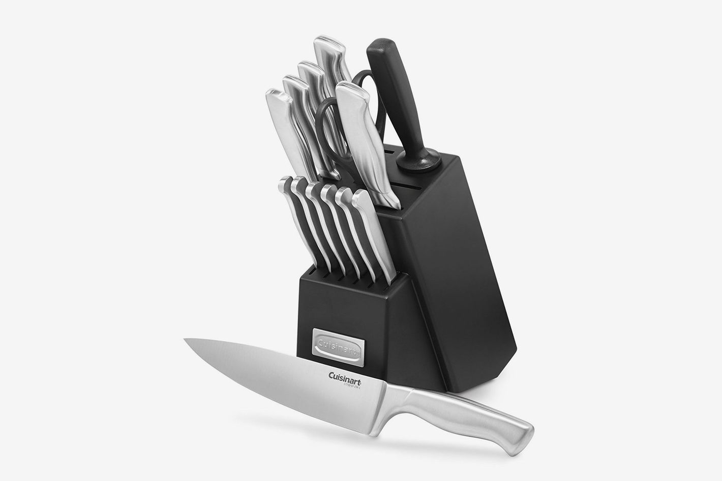 17 best kitchen knife sets and reviews 2018 cuisinart c77ss 15pk 15 piece stainless steel hollow handle block set teraionfo