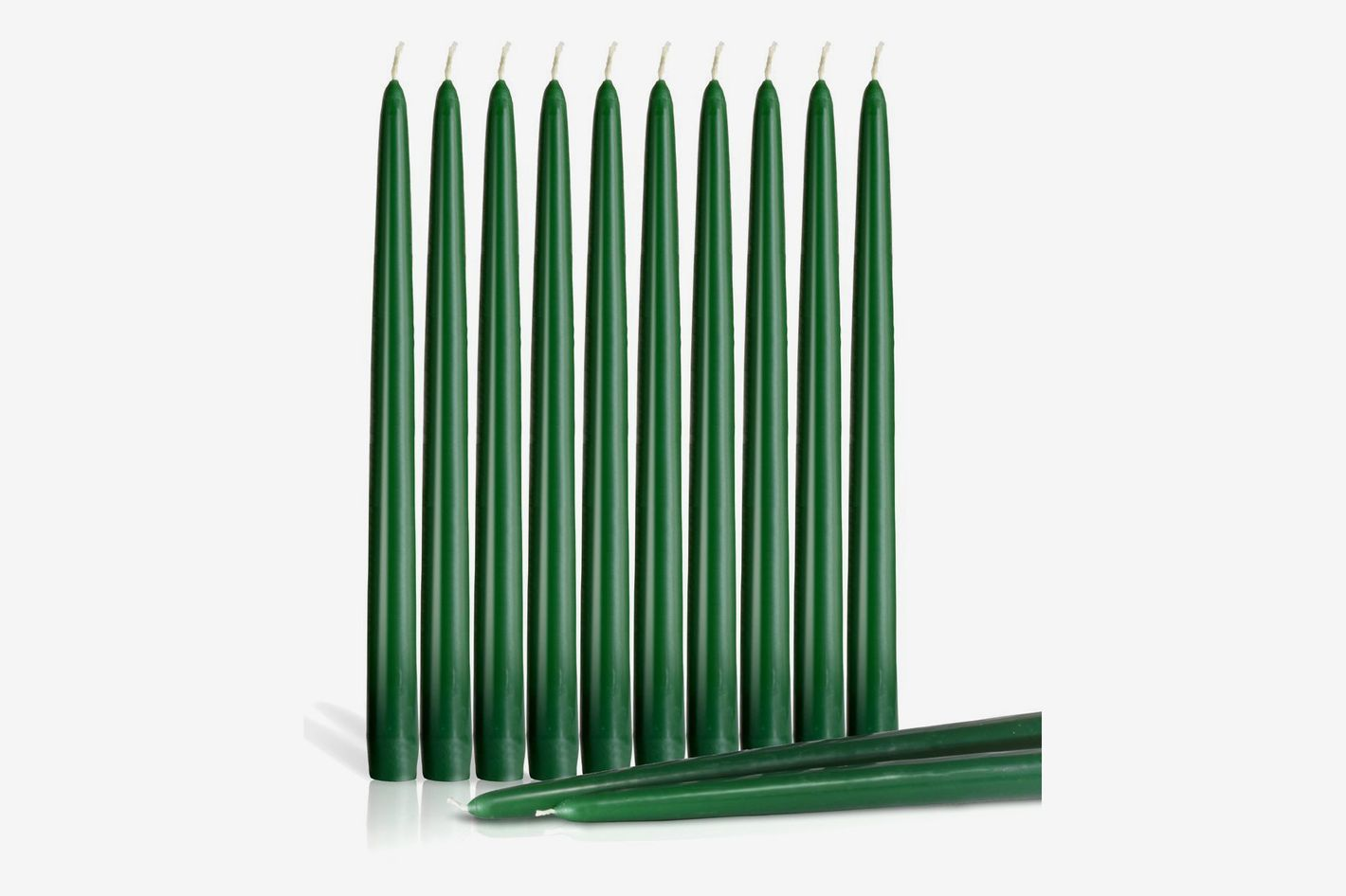 Dripless Taper Candles 12-Inch Tall