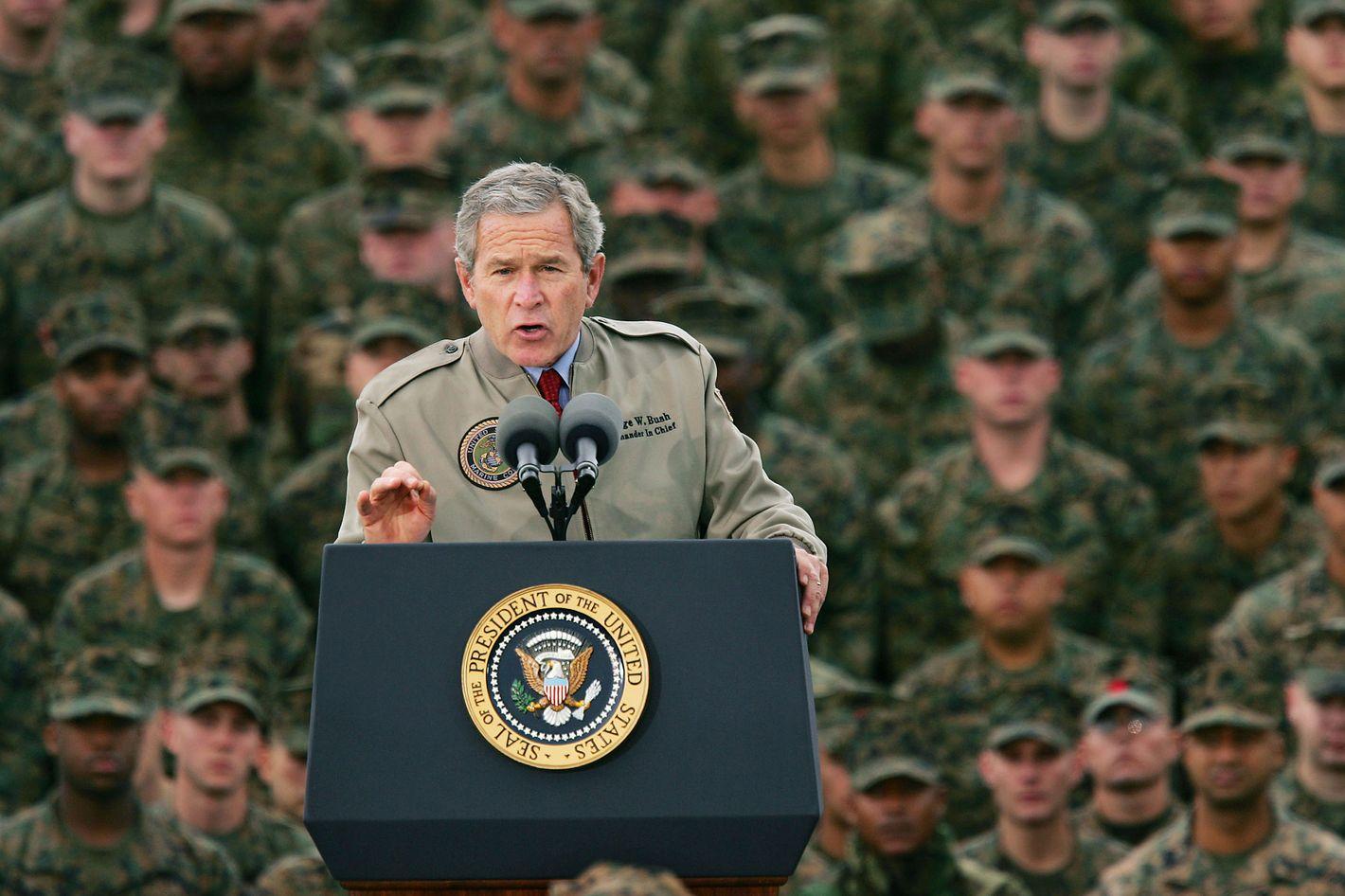 George W Bush Had Authoritarian Tendencies Too