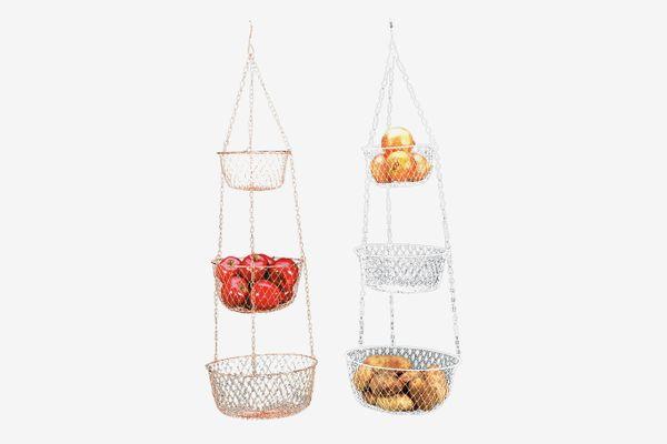 Hanging 3 Tier Fruit and Vegetable Basket