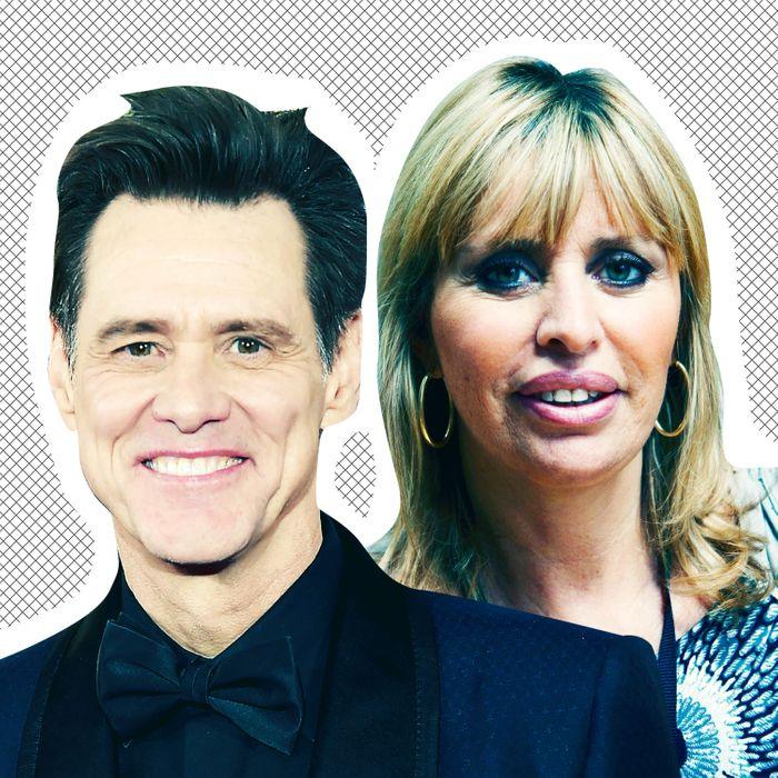 Jim Carrey, Alessandra Mussolini.