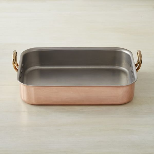 Mauviel Copper Tri-Ply Roasting Pan