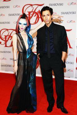 Michelle Harper and Christian Cota.