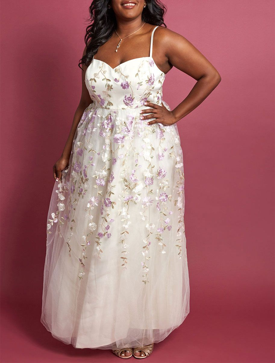 Chi Chi London Authentic Elegance Maxi Dress in Ivory