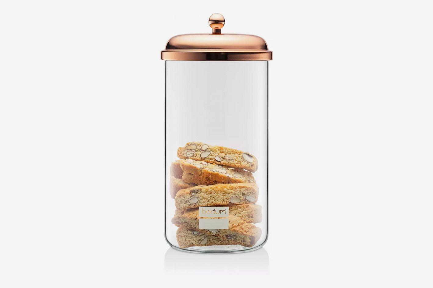 Bodum Copper Classic 68-Ounce Storage Jar