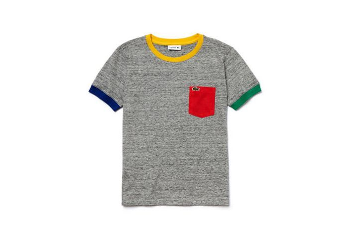 Lacoste Kids' Colorblock Finishes Jersey T-shirt