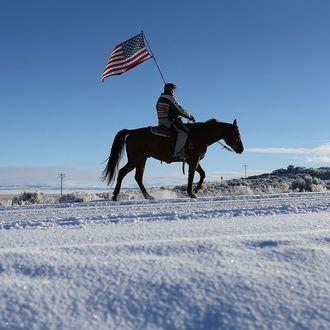 Anti-Government Protestors Occupy National Wildlife Refuge In Oregon