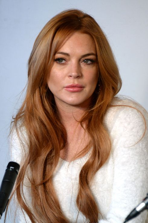 PARK CITY, UT - JANUARY 20:  Actress Lindsay Lohan attends the Lindsay Lohan Press Conference at Social Film Loft during the 2014 Park City on January 20, 2014 in Park City, Utah.  (Photo by Andrew H. Walker/Getty Images)