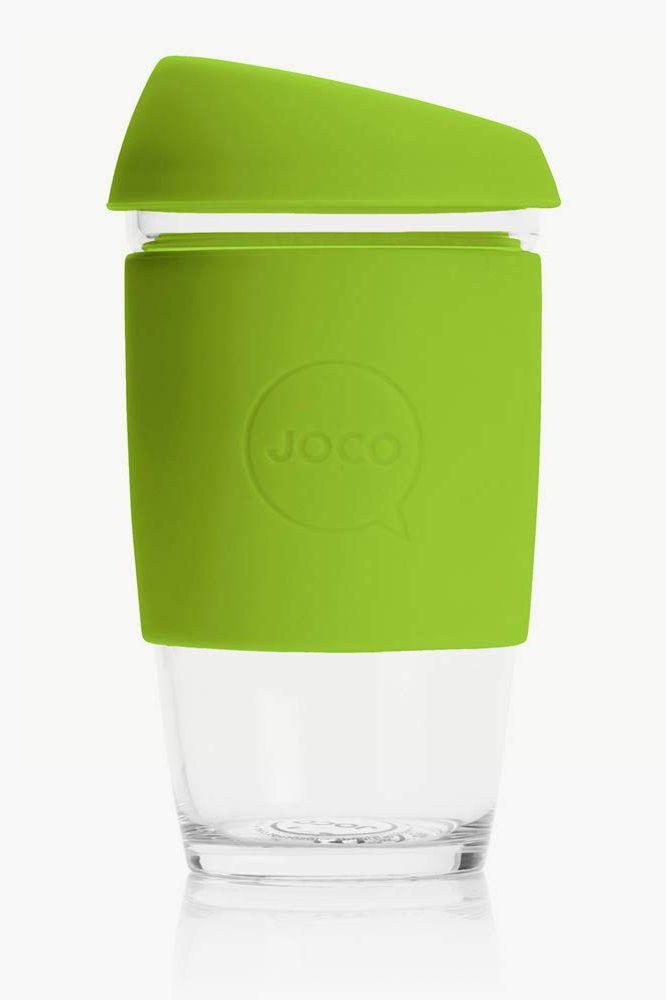 JOCO 16oz Glass Reusable Coffee Cup