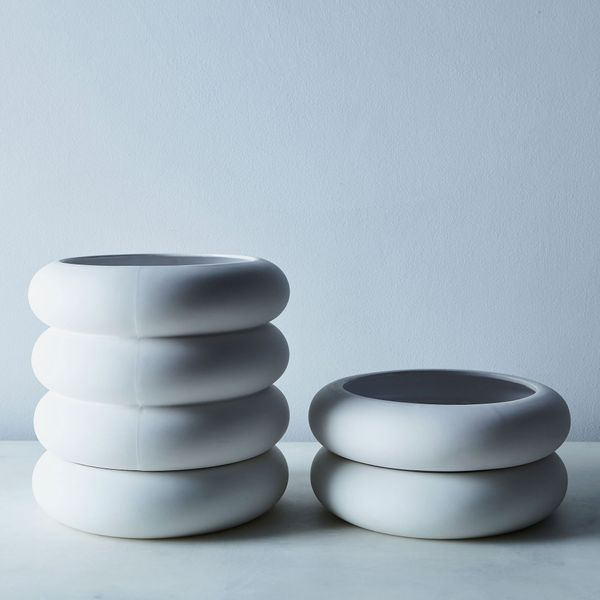 Areaware Stacked Porcelain Planter