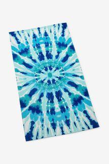 Martha Stewart Collection Radiant Tie Dye Beach Towel