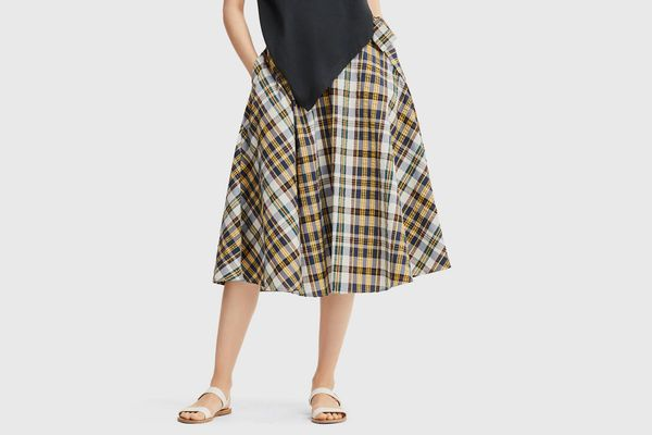 Uniqlo X JWA High-Waisted Flare Skirt