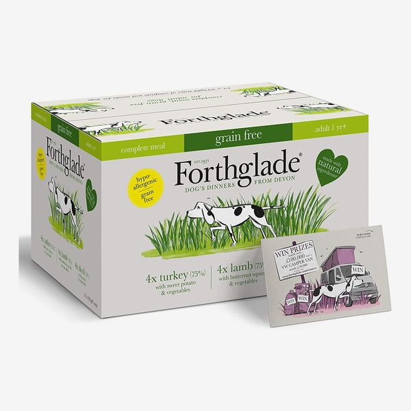 Forthglade Natural Grain-Free Wet Dog Food – 395g (pack of 12)