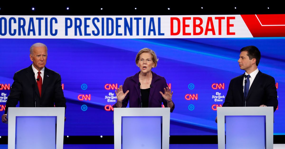 There Are Only 5 Candidates Still Standing After the Latest Democratic Debate