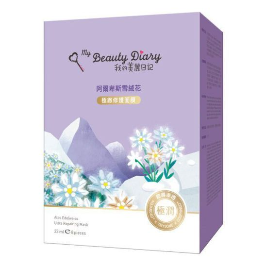 My Beauty Diary Alps Edelweiss Ultra-Repairing Mask