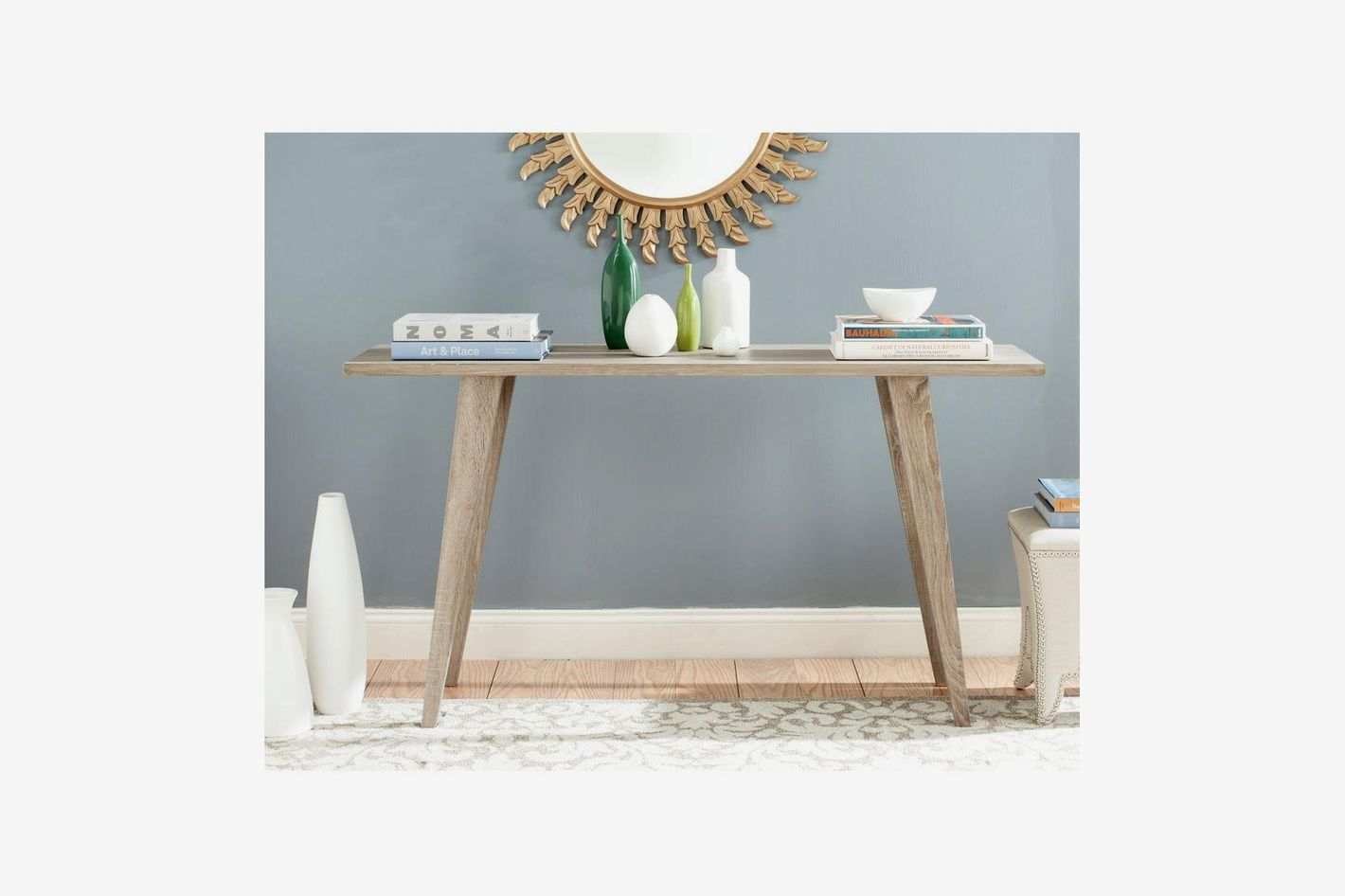 Safavieh Manny Oak Console Table
