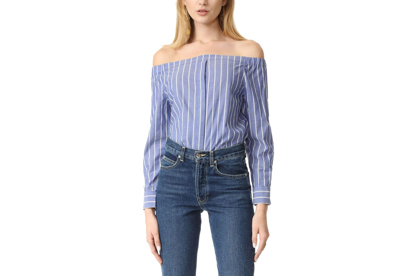 Equipment Gretchen Off-Shoulder Top