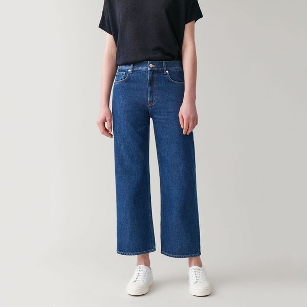 Cos High Waisted Straight Jeans