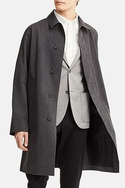 Uniqlo Men's Blocktech Convertible Collar Coat