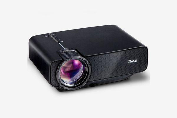 Ragu Z400 Mini Projector, Multimedia Home Theater Video Projector