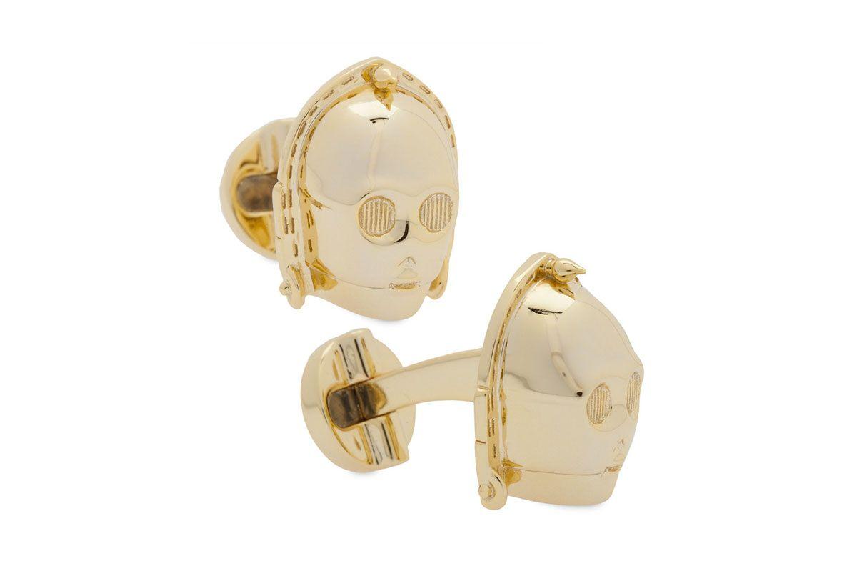C-3PO cufflinks