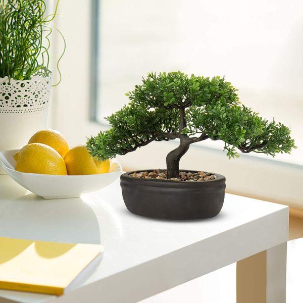 9-Inch Artificial Bonsai Tree