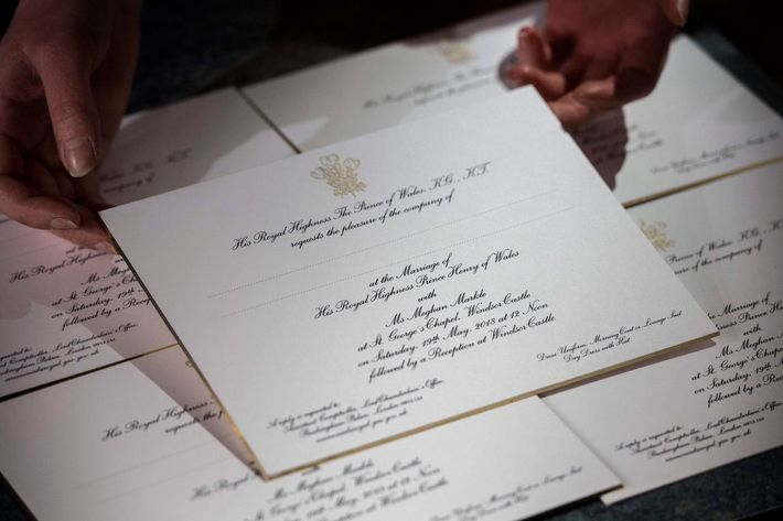 Harry And Meghan S Wedding Invitations Photo Kensingtonroyal Twitter