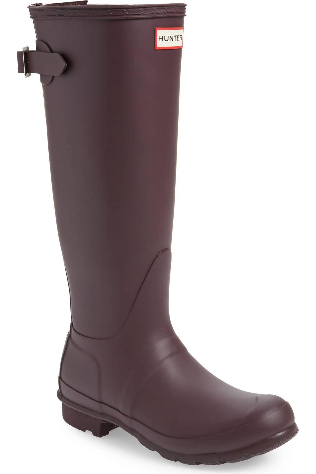 Hunter Original Tall Adjustable Back Rain Boot