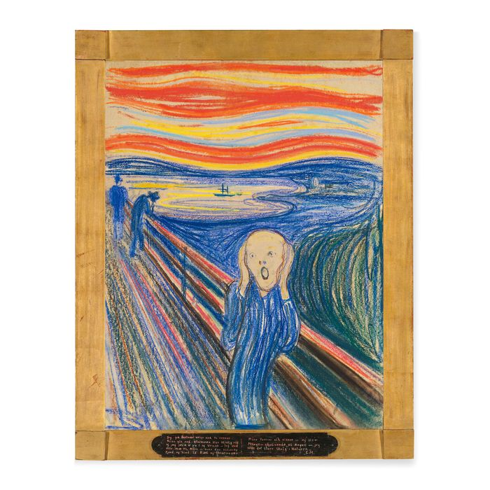 Edvard Munch. The Scream. Pastel on board. 1895