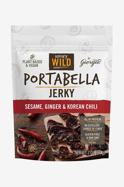 Giorgio Savory Wild Vegan Portabella Jerky, Sesame, Ginger & Korean Chili